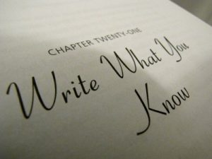 Write What You Know 300x225 Write What You ... No?