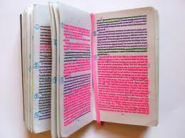 Highlighting Hands Off My Books