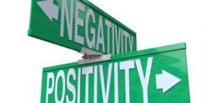 Negativity Positivity 300x150 How to Spin Your Writerly Negativity into Contentment