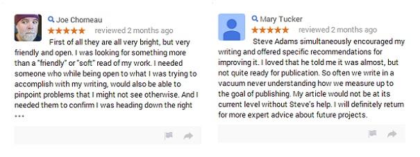 Critique Reviews on Google Plus