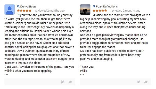 More Critique Reviews on Google Plus