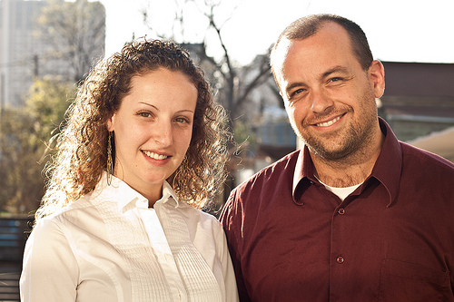Justine and David Duhr, WriteByNight's founders