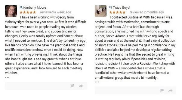 Google+ Reviews by Kimberly and Tracy