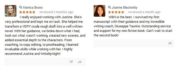 Google+ Reviews by Monica and Joanne